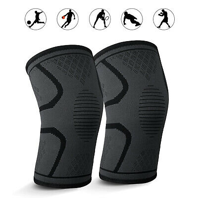 1-Pair Knee Support Sleeve, Best Ligament/Tendon Injury Brace For Men &