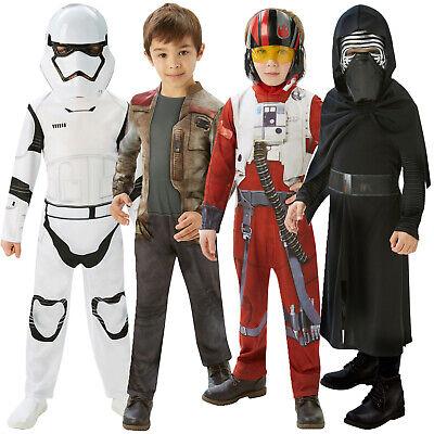 Rubies Star Wars New Childrens Classic Stormtrooper Kylo Ren Poe Or Finn Costume