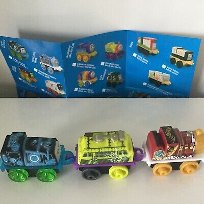 THOMAS & FRIENDS MINIS 2019/2-SPOOKY DIESEL 10-KING JAMES-X RAY GATOR-TRAIN LOT