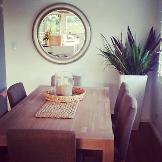 Near NEW Dining Table And Chairs For Sale