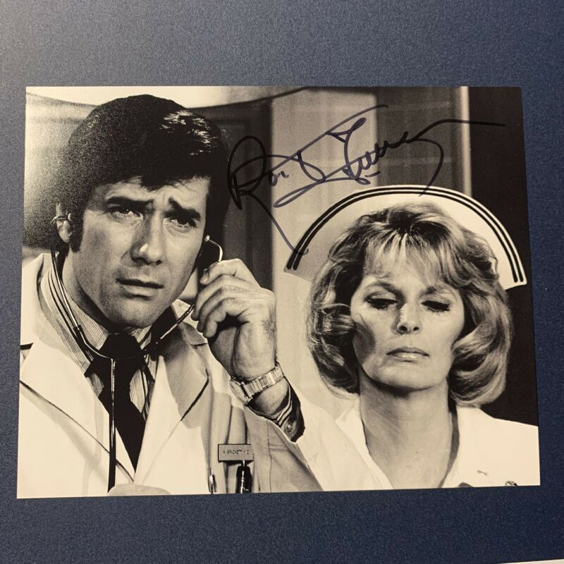ROBERT FULLER SIGNED 8x10 PHOTO ACTOR AUTOGRAPHED EMERGENCY SHOW RARE COA