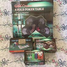 Poker Set with accessories Brendale Pine Rivers Area Preview