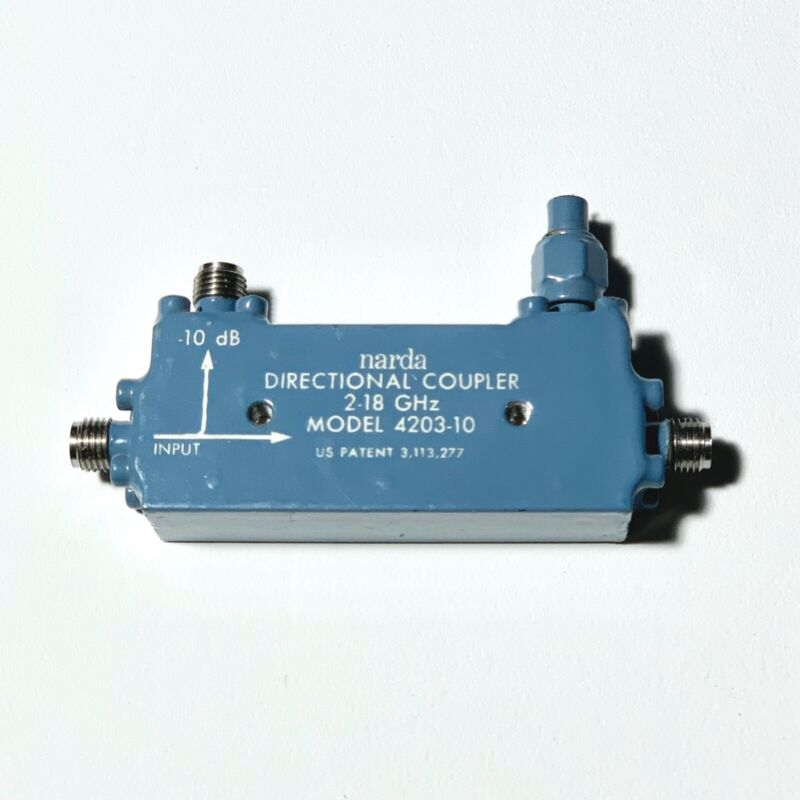 Narda 4203-10 Directional Coupler (2-18 GHz)