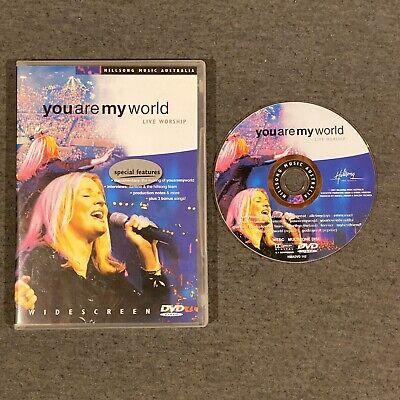 You Are My World: Live Worship (DVD, 2001) Hillsong Australia Music