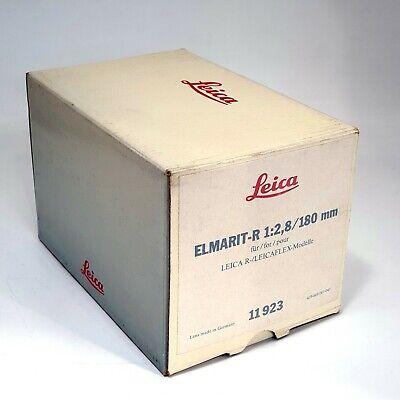 Leica Elmarit-R 1:2.8 180mm Empty box (No Lens , Only Box)