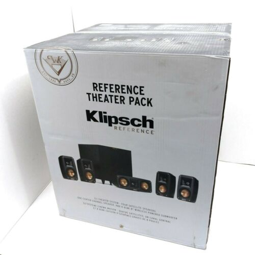 Klipsch Reference Theater Pack 5.1 Theater System MSRP $1149.00