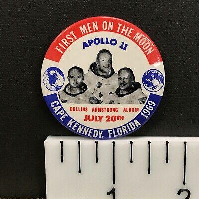 VTG NASA Pinback Button Pin 1973 Skylab First American Space Station