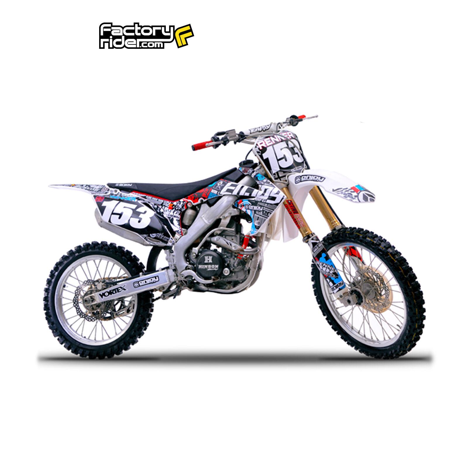 1 Of 4FREE Shipping 2010   2013 HONDA CRF 250 Dirt Bike Graphics Kit  Motocross Graphics Live U0026 Learn