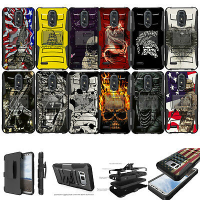 - For [ LG Stylo 3 / Stylo 3 Plus] Rugged Hybrid Heavy Duty Holster Case Clip Cool