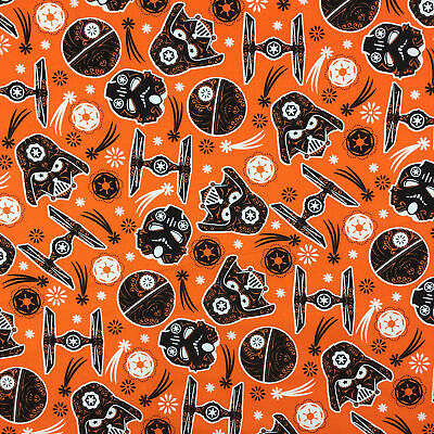 Star Wars The Dark Side - Glow in the dark - Halloween Fabric Material