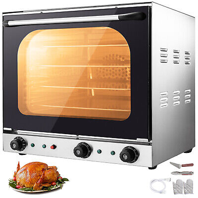 Commercial Convection Oven 60l2.12 Cu.ft 2600w Toaster Oven Multifunction Oven