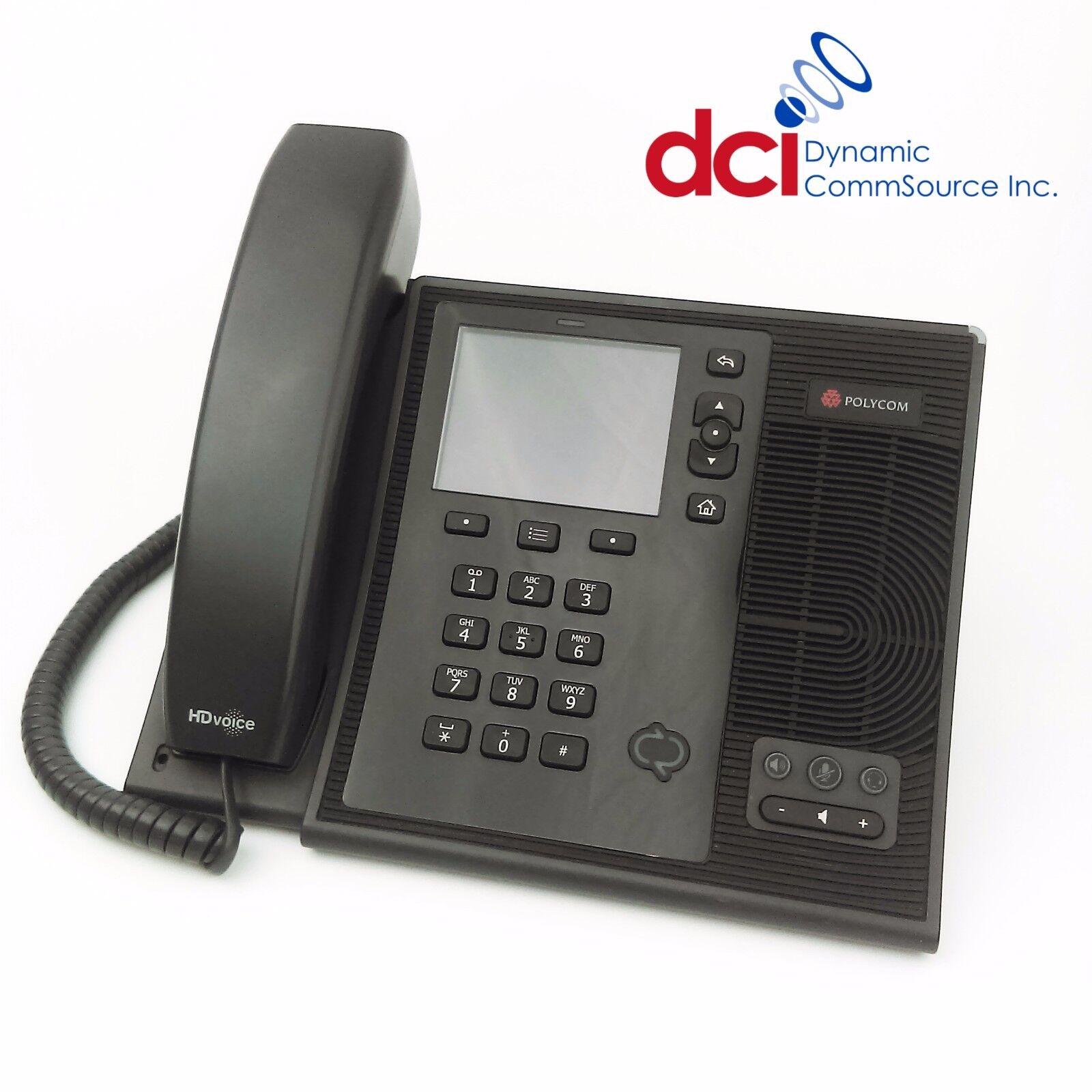 Polycom CX600 IP Phone 2200-15987-025 POE Renewed