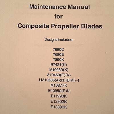 Hartzell Composite Propeller Blades Maintenance Manual