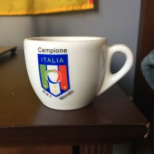 Italia Soccer Team Espresso Set