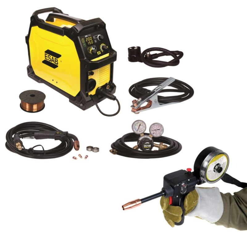 ESAB Rebel EM 215ic MIG Welder with Spoolgun (0558102436)