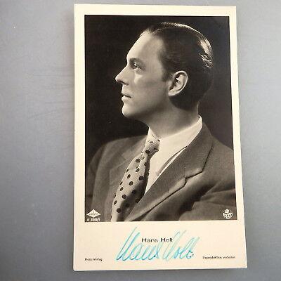 Autogramm Hans Holt auf Terra Autogrammkarte (47813)