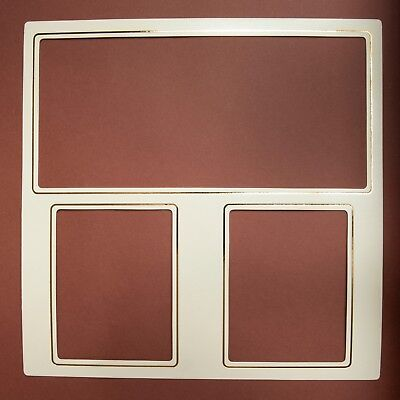 Art Leather Futura Album Large Mats (Package of 10) # 560 Color: Ivory