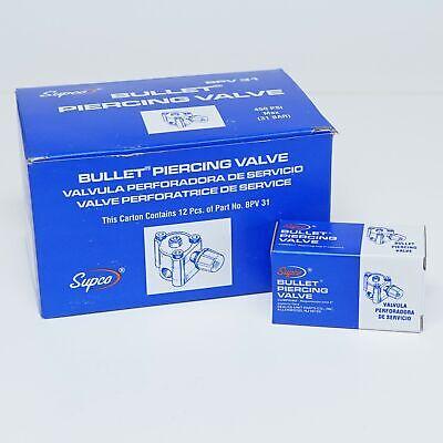 Bpv31-12 Pack Supco Bullet Piercing Valve For 14 516 38 Tubing 3-n-1