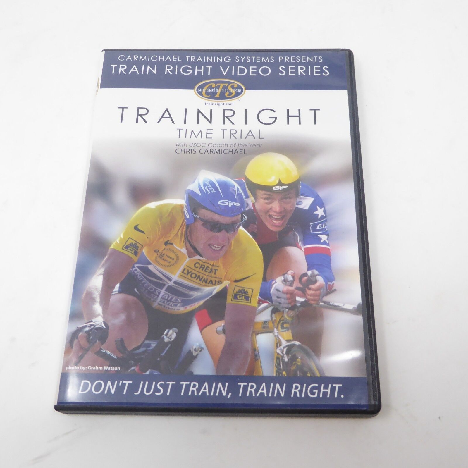 Carmichael Training System Train Right - Time Trial DVD Bicycle Cycling  (Very Good - 3.95 USD)