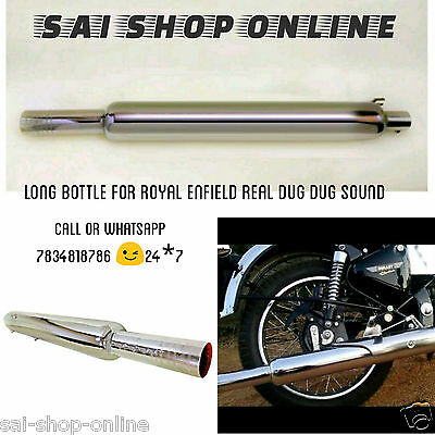 Customised Bada Punjab Silencer/Exhaust for Royal Enfield Bullet classic 350cc for sale  DELHI