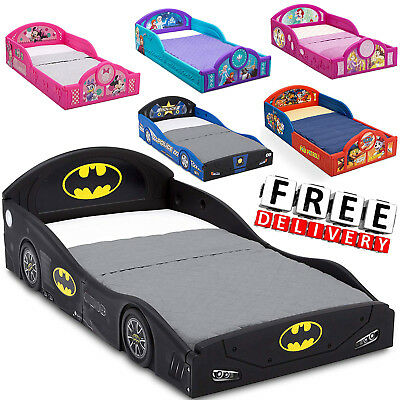 - Toddler Bed Kid Frame Child Bedroom Furniture Boy Girl Princess Disney Safety