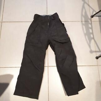 8bbdf66a10 Children s black ski pants