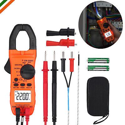 Multi-purpose Clamp Meter Trms Digital Test Backlight Ncv Resistance Temperature