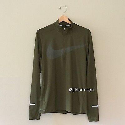 Element Top - Nike Dri-FIT Element Men's Long Sleeve Half-Zip Running Top sz S M L XL 2XL -$80