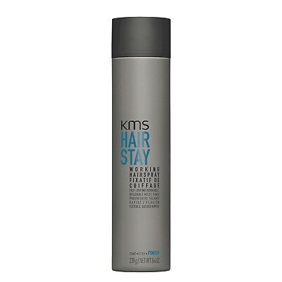 KMS HAIRSTAY Working Spray 8.4 oz / 239 g Hair Stay flexible hold - Hair Stay Medium Hold Spray