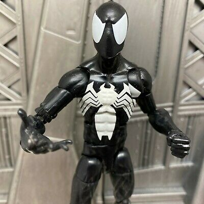 "Marvel Legends Hasbro Sandman BAF Black Suit Spider-man 6"" Inch Action Figure"