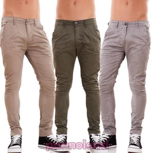 277447cb54 Pantalones de Hombre Pitillo Slim Fit Chino Colorido Casual Algodón ...