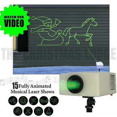 Halloween Light Show Animals (Mr. CHRISTMAS HALLOWEEN ANIMATED MUSICAL LASER LIGHT SHOW / SEE OUR)