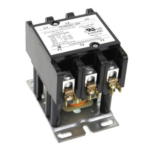 DEFINITE PURPOSE CONTACTOR CN-PBC603-120V COIL 60/75A