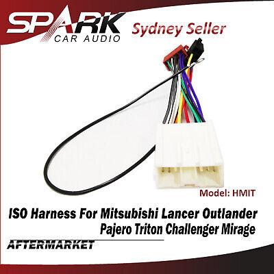 ISO Harness Plug Adapter Cable Wire Lead Loom For Mitsubishi Colt Nimbus Verada