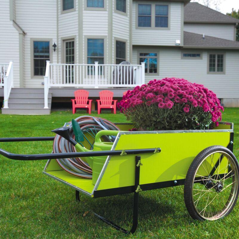 Sun Joe SJGC7 Garden & Utility Cart | 7 Cubic Ft | 300 lbs Capacity