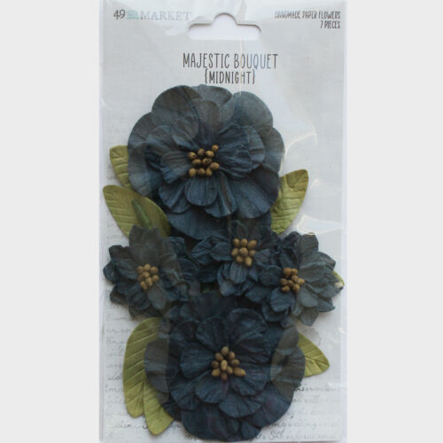 49 and Market MAJESTIC BOUQUET MIDNIGHT 7 pieces #MB-34185