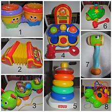 Fisher Price Baby/Toddler Toys - Bulk Lot $20 Guildford Parramatta Area Preview