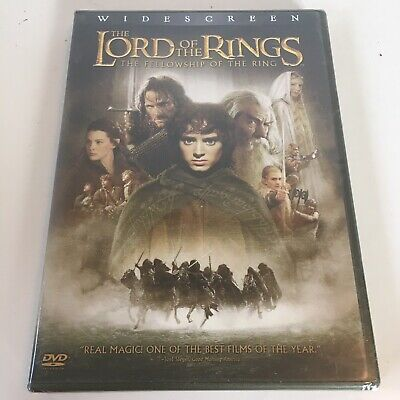 The Lord of the Rings: The Fellowship of the Ring (DVD, 2002, 2-Disc Set) NEW