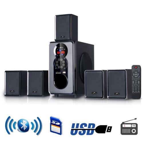 5 1 channel surround sound bluetooth home