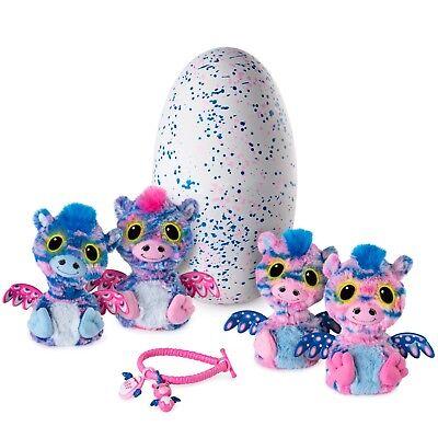 Spin Master Toy Hatchimal Twins Surprise Pink/Blue Egg, Zuffin Walmart Exclusive