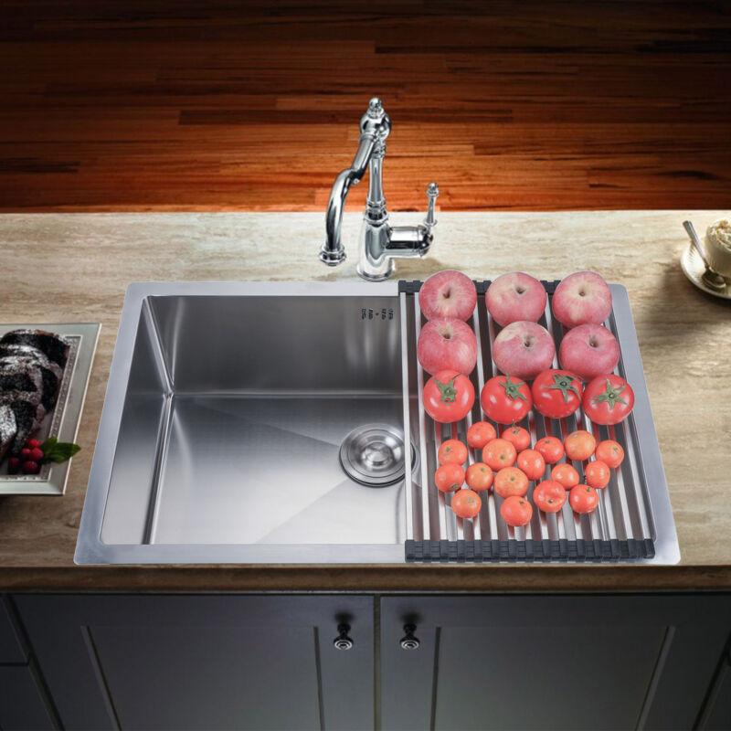 18 gauge kitchen sink stainless steel deep
