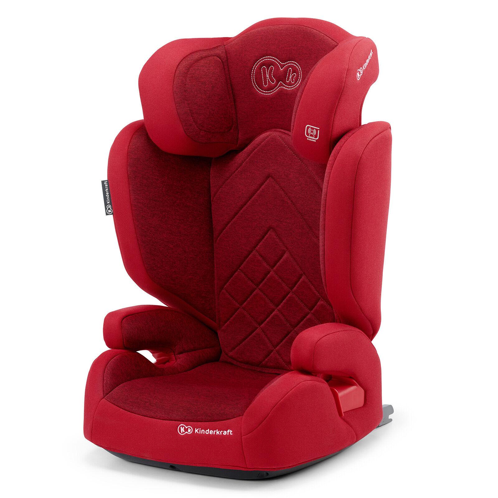 Kinderkraft Seggiolino Auto XPAND Isofix Regolabile Gruppo 2/3 15-36 kg Rosso