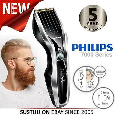 Philips HC7450 Series 7000 Hair Clipper Trimmer│Self Sharpening Titanium Blades
