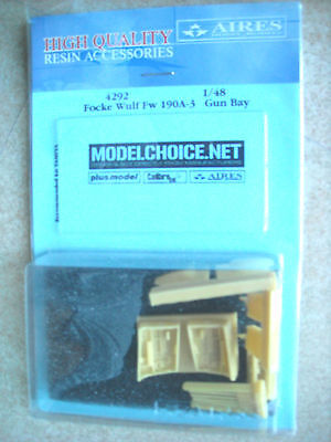 Aires 1/48 4292 Focke Wulf Fw 190A-3 Gun Bay for Tamiya Kit