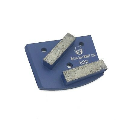 Diamond Grinding Disc Bar Segment Lavina Edco Floor Grinder Grit 60 Medium Bond
