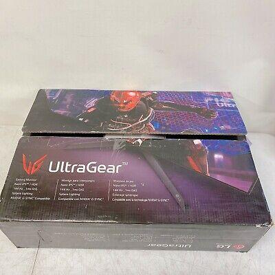 "LG 27GN950-B 27"" UltraGear 4K UHD 1ms 144Hz G-Sync Nano IPS Gaming Monitor"