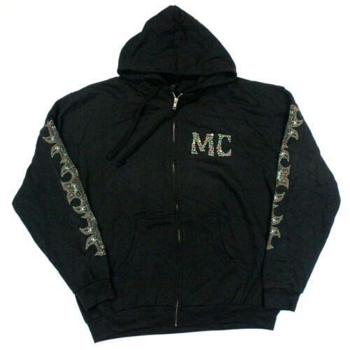 Miley Cyrus Younger Now Full-Zip Hooded Sweatshirt - Tultex - Black - 2XL