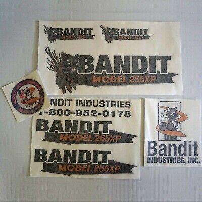 Brush Bandit Wood Chipper Model 255xp Sticker Decal Kit - New