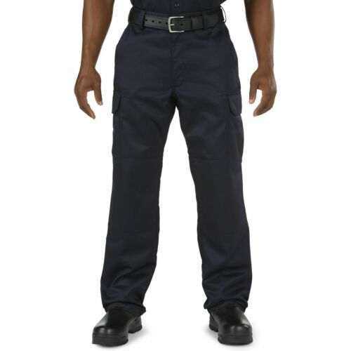 5.11 Tactical Men's Company Cargo Pant, Fire Navy, Waist 28-