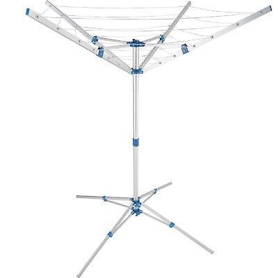 Mobile Séchoir rotatif Cordes à linge Séchoir à linge corde sec jardin plein air